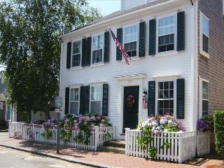 Restored Antique Captain's House on Orange Street, Nantucket