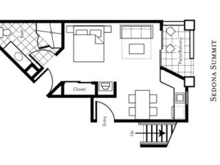 Floor plan 470 Sqft