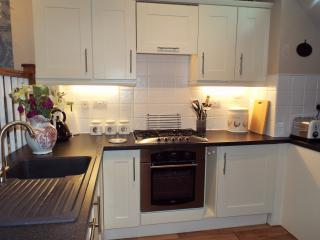 Kitchen at Ironbridge View Townhouse - Luxury Self Catering in Ironbridge Shropshire.