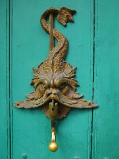 Cartagena is famous for its inventive and sometimes scary door knockers
