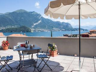 The Terrace on lake Como!