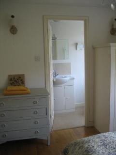En suite shower room to bedroom 1