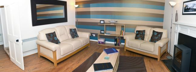 Relax in comfort in the quality furnished lounge after a day exploring Kirkwall and Orkney.
