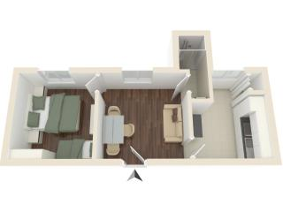Nice quiet Apartment for 5 people in San Lorenzo!!, Florencia