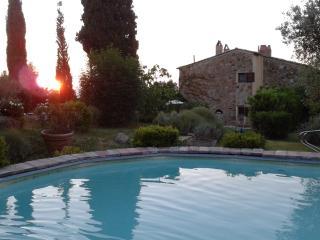 Appartamento 4 pers. in casale toscano con piscina