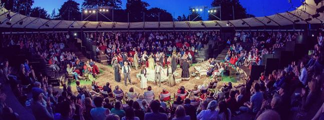 Shakespeare under the stars, Open Air Theatre at Grosvenor Park