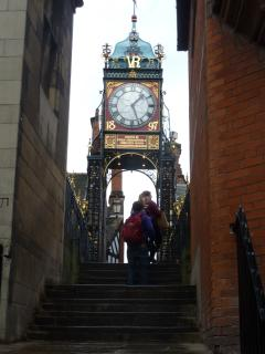 Eastgate Clock, the most photographed clock after Big Ben