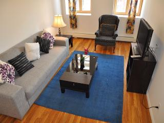 Furnished Luxury One Bedroom-Elevator/Laundry/Roof, New York City