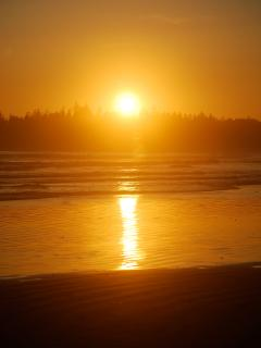 Chesterman Beach Sunsets a 1 min walk from your cabin