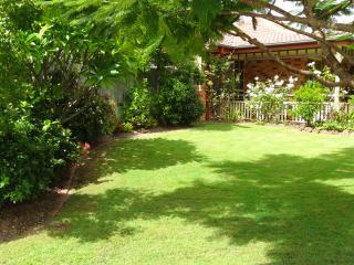 You will adore our tropical garden setting