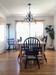 Formal dining room seat sup to 12.