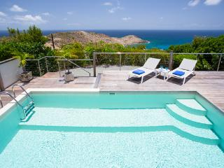 Located at the far end of Vitet offering a splendid sea view WV BEL, St. Barthelemy