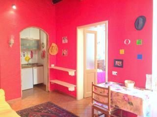 La casa Rossa in Trastevere, Roma