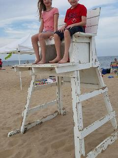 Kids on the beach - an awesome combination