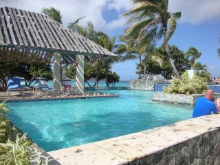 Beachfront Vacation Rental has direct beach access, East End