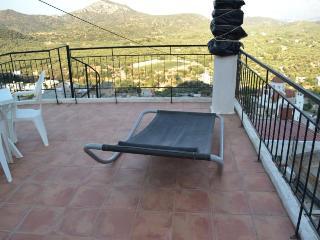 Maison typique de Crète sur les hauts de Kritsa