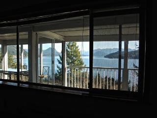 Spectacular Views From High Bank Waterfront Home, Gibsons