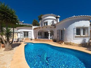 Villa Sebastian en Teulada-Moraira,Alicante para 4 huespedes