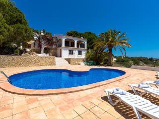 Villa Fortuna en Benissa,Alicante para 6 huespedes