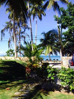 beach chairs on our beach (Playa Las Ballenas)