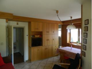 Cavalese / Fiemme: apartment in villa with garden