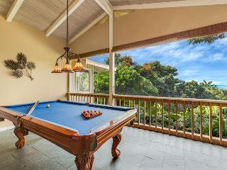 Billiards Table with Ocean Views