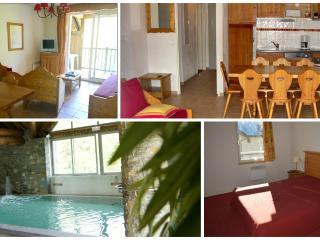 Saint Lary T5 4*10personnes piscine sauna spa ski