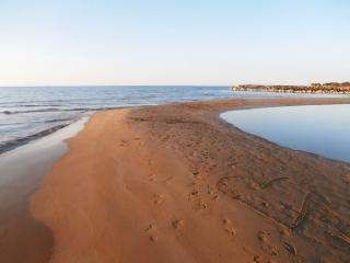 AVRA, 100m form the beach