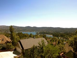 View of Lake Arrowhead from the Caribou Lodge