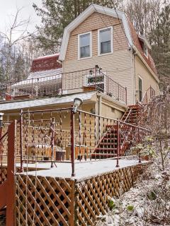 Exterior - first snow