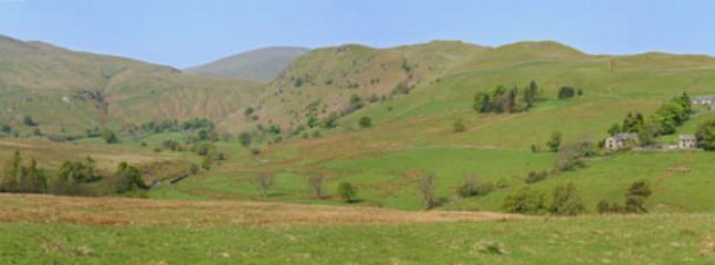 Our valley...total silence and peace ..no cars...walk onto the fells from the door...leave the car