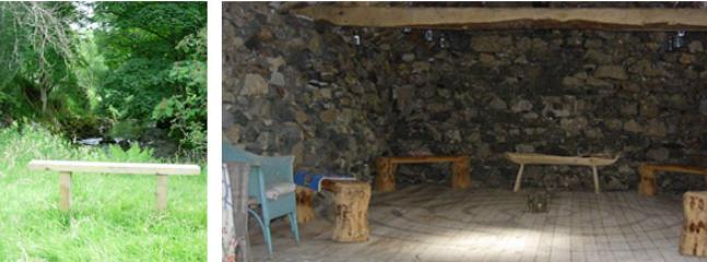 Lucys Barn and wood