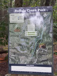 Buffalo Creek Park walking distance from the house, Mountain Bike Trails and Hiking