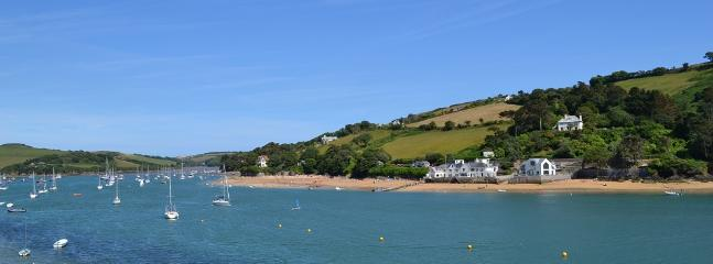 Salcombe estuary by Mill bay beach - dog friendly