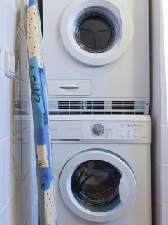 Secadora, lavadora, plancha..
