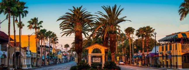 Downtown Venice Shopping District