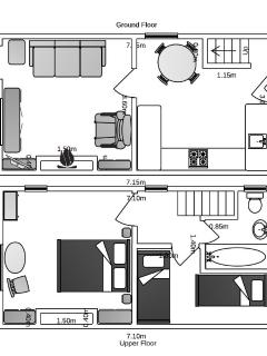 Floor Plans for the cottage