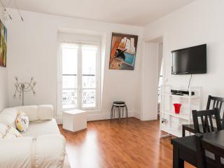 Appartement lumineux pour 5 personnes près Monceau, Paris