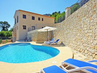 Villa Lia -  With seaviews, private pool, air conditioner and BBQ., Calpe