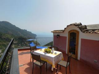 Le Volte with sea view terraces and garden, Ravello