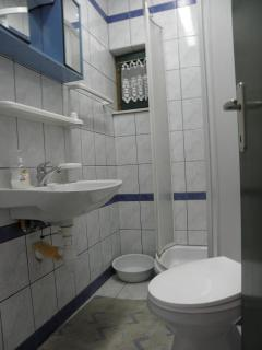 A1(3+1): bathroom with toilet