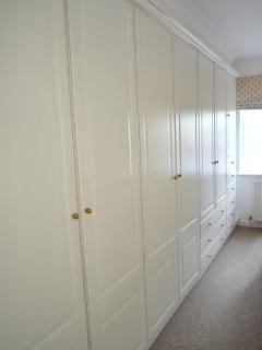 Vast amount of wardrobe space