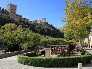 Apartamento junto al Paseo de los Tristes, Granada