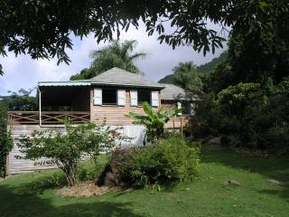 Sandy Lane, one bedroom house in rainforest plus one bedroom cottage