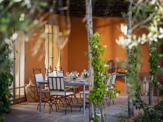 Outside dining terrace