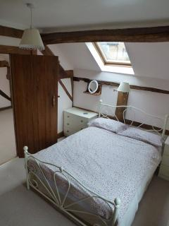 Bedroom 1 - upstairs with standard double bed