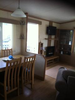 Caravan holiday Glan y mor plot 64 clarach bay
