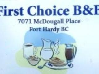 First Choice B&B, Port Hardy