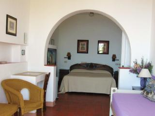 Studio apartments with pool, reception service