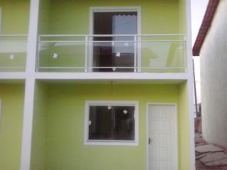 casa duplex em residencial com area de servico
